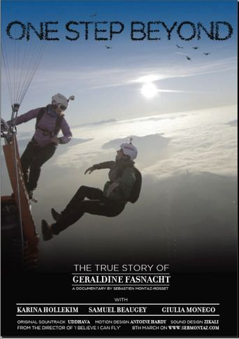 One Step Beyond - The True Story of Géraldine Fasnacht Poster