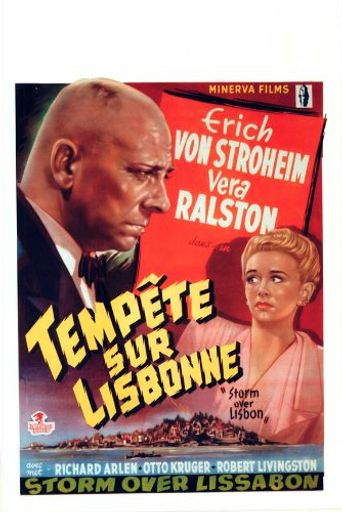 Storm Over Lisbon Poster