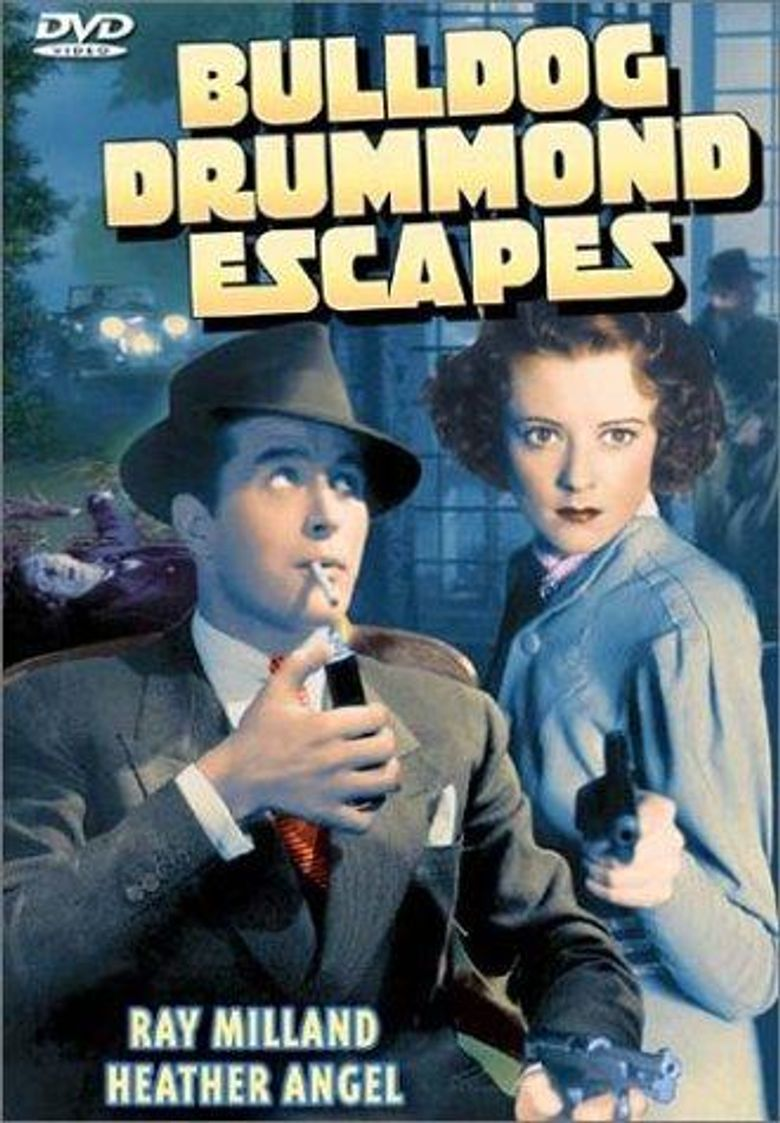 Bulldog Drummond Escapes Poster