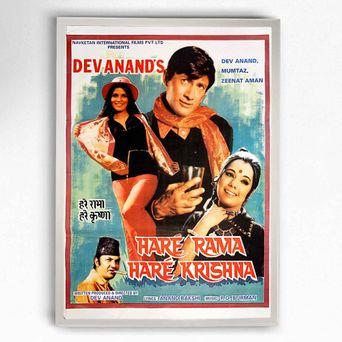 Haré Rama Haré Krishna Poster