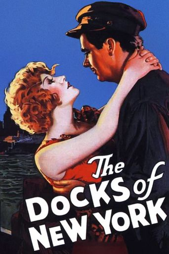 The Docks of New York Poster