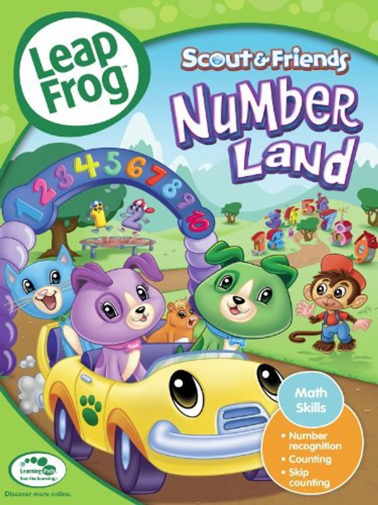 LeapFrog: Numberland Poster