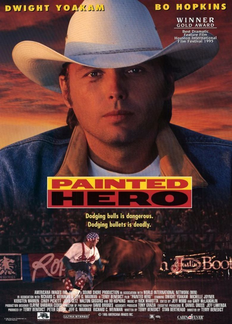 Painted Hero Poster
