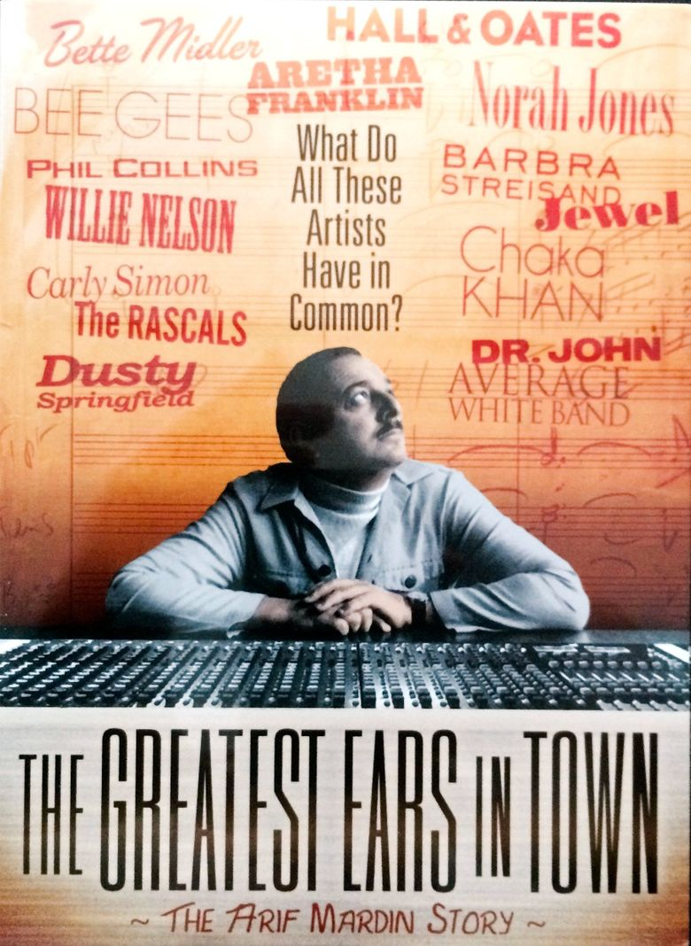 The Greatest Ears in Town: The Arif Mardin Story Poster