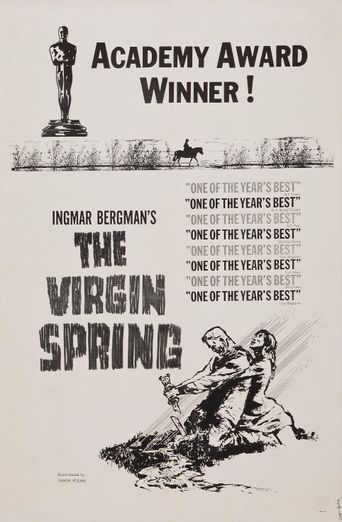 The Virgin Spring Poster