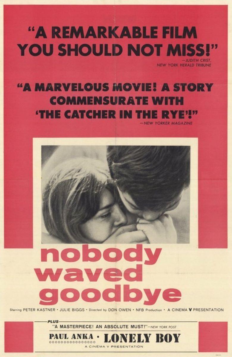 Nobody Waved Goodbye Poster