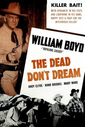 The Dead Don't Dream Poster