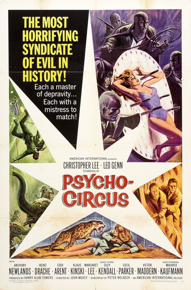 Circus of Fear Poster