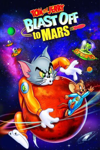 Tom and Jerry Blast Off to Mars! Poster