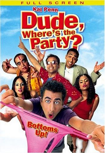 Dude, Where's the Party? Poster
