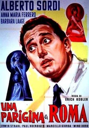 Una parigina a Roma Poster