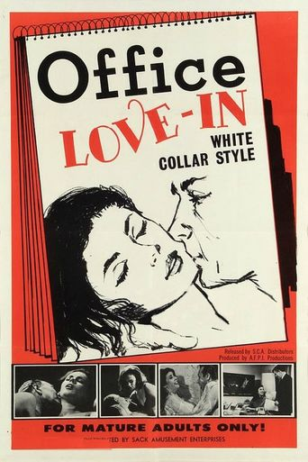 Office Love-In, White Collar Style Poster