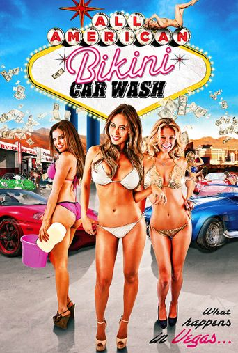 All American Bikini Car Wash Poster