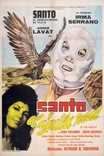 Santo and the Golden Eagle Poster