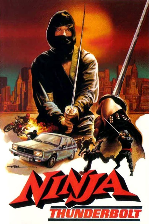 Ninja Thunderbolt Poster