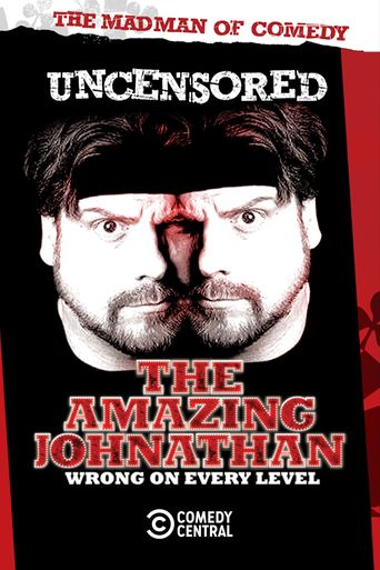 The Amazing Johnathan: Wrong on Every Level Poster