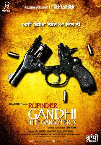 Rupinder Gandhi The Gangster Poster
