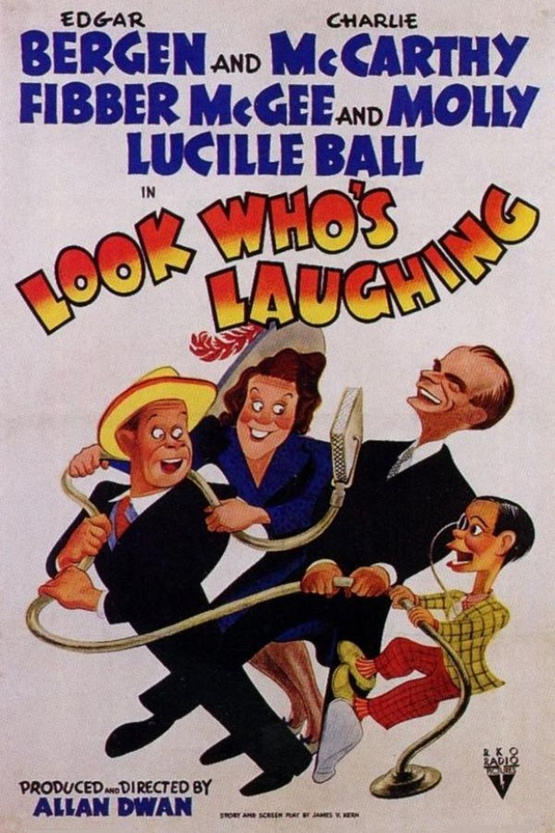 Look Who's Laughing Poster