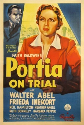 Portia on Trial Poster