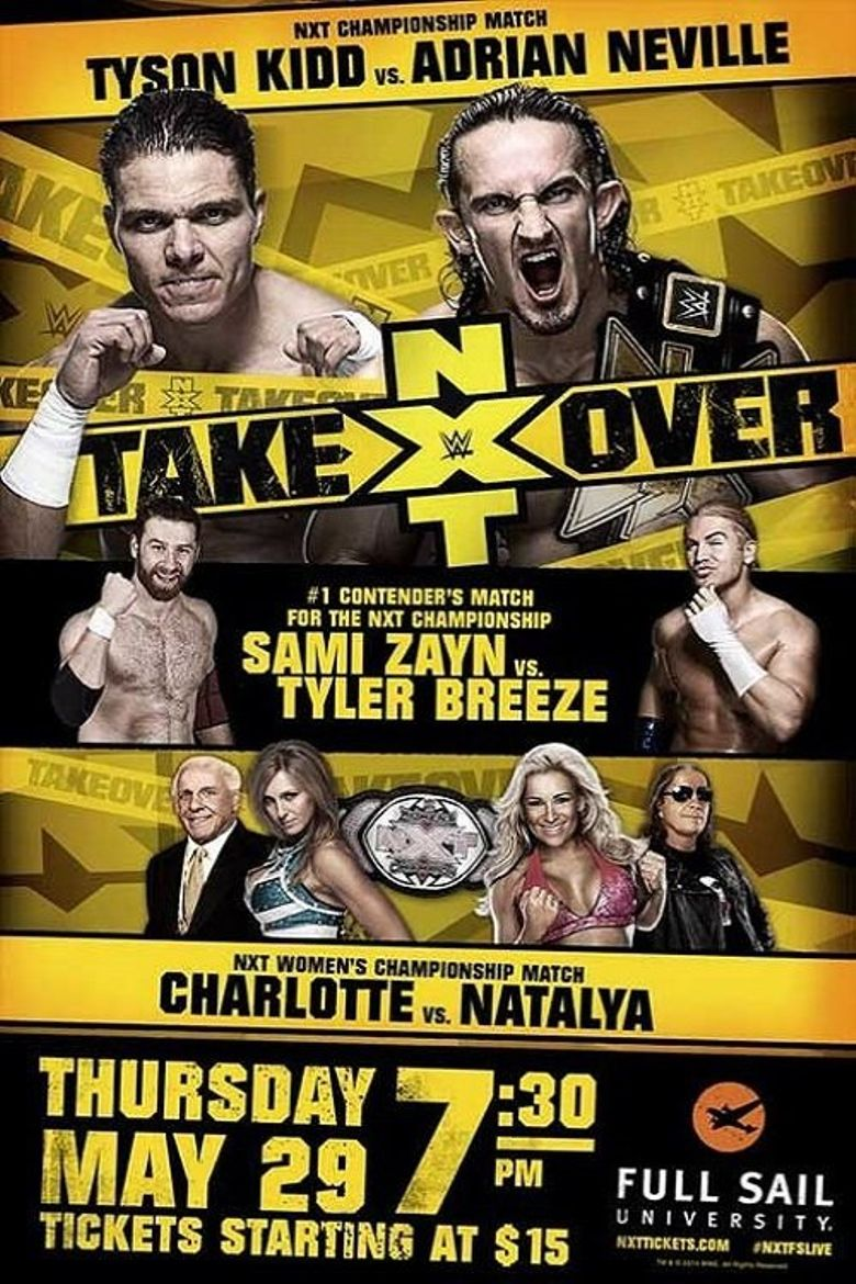 NXT TakeOver Poster