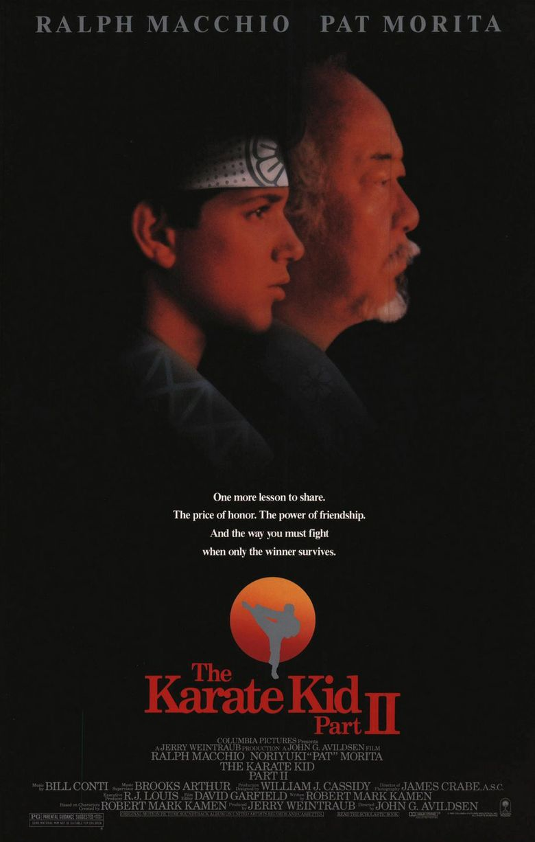 The Karate Kid, Part II Poster