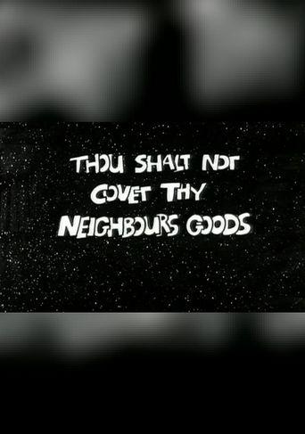 The Ten Commandments Number 9: Thou Shalt Not Covet Thy Neighbour's Goods Poster