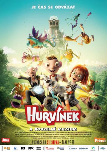 Harvie and the Magic Museum Poster