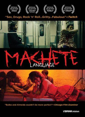 Machete Language Poster