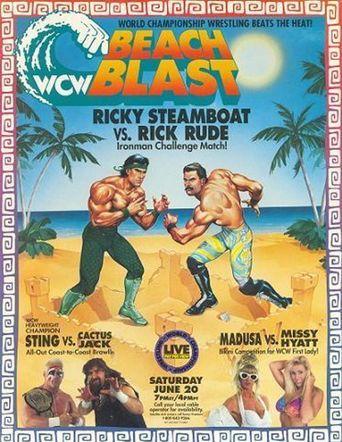 WCW Beach Blast 1992 Poster