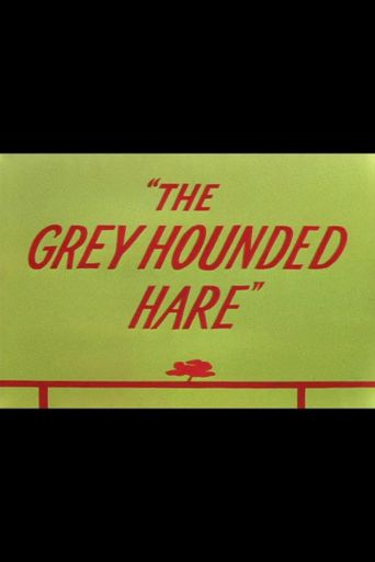 The Grey Hounded Hare Poster