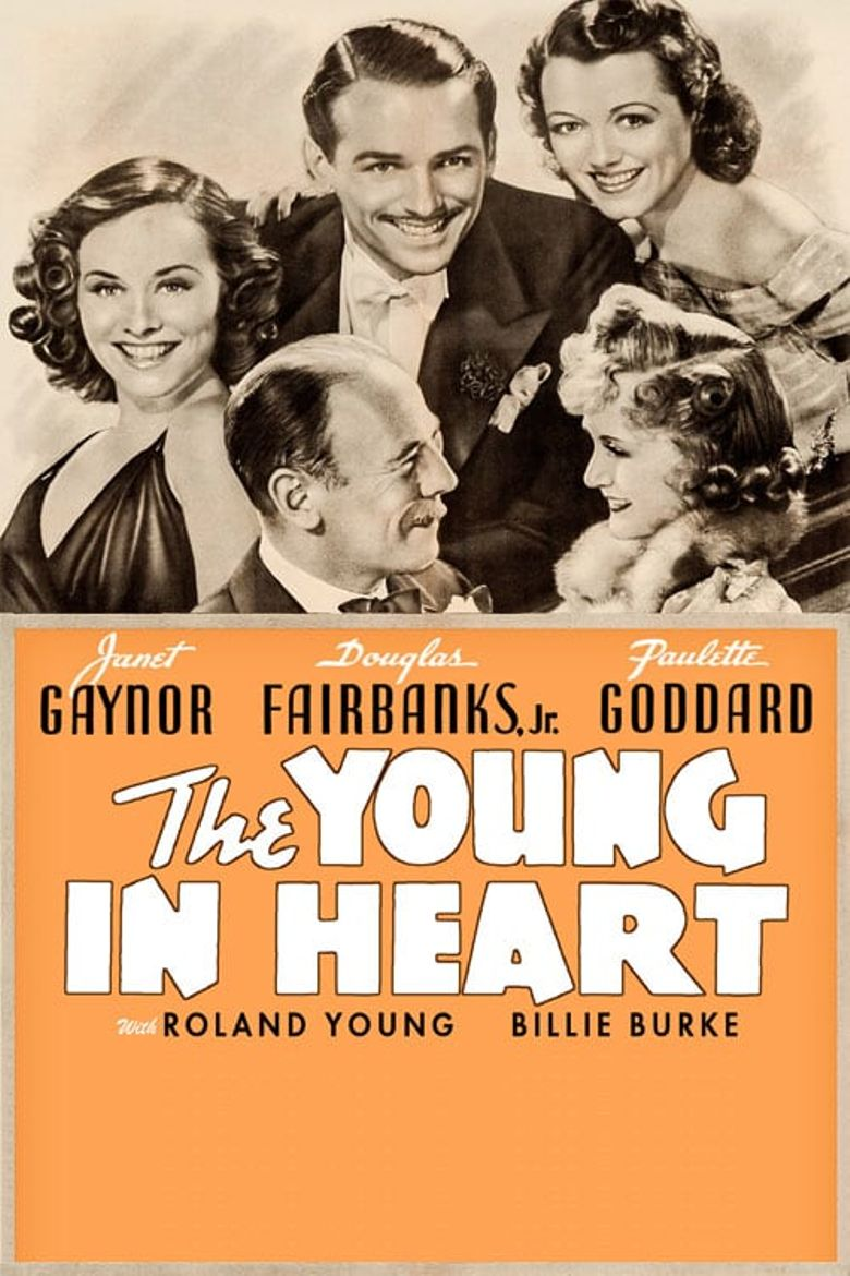 The Young in Heart Poster