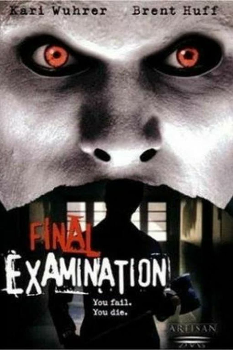 Final Examination Poster