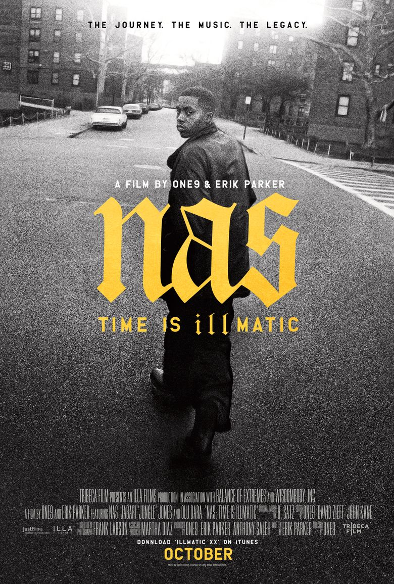 Nas: Time Is Illmatic Poster