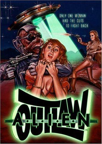 Alien Outlaw Poster
