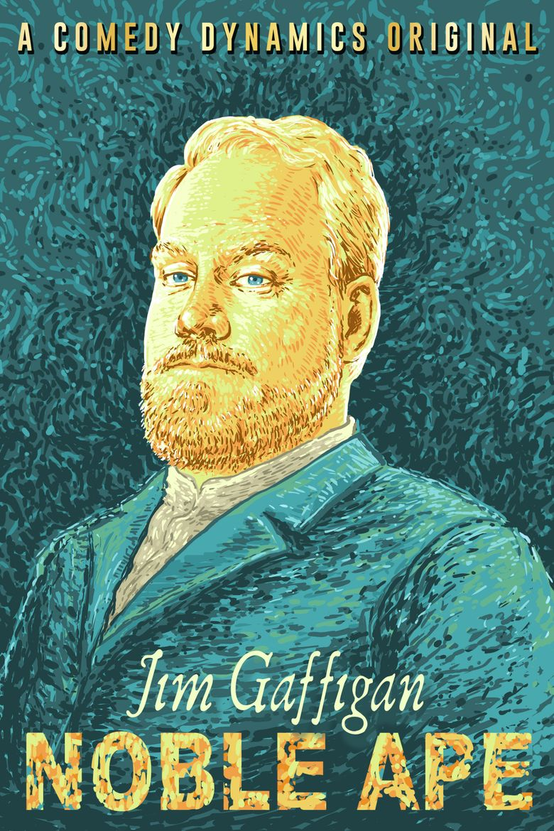 Jim Gaffigan: Noble Ape Poster