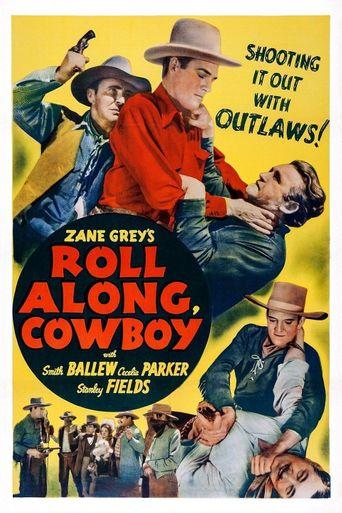 Roll Along, Cowboy Poster