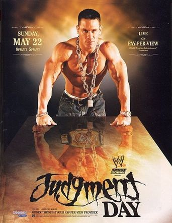 WWE Judgment Day 2005 Poster