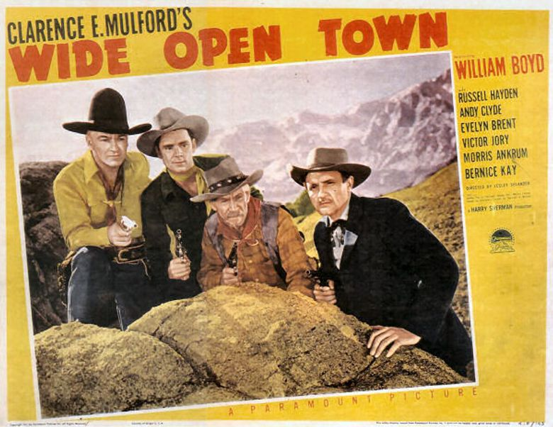 Wide Open Town Poster