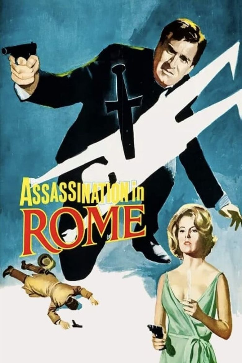 Assassination in Rome Poster
