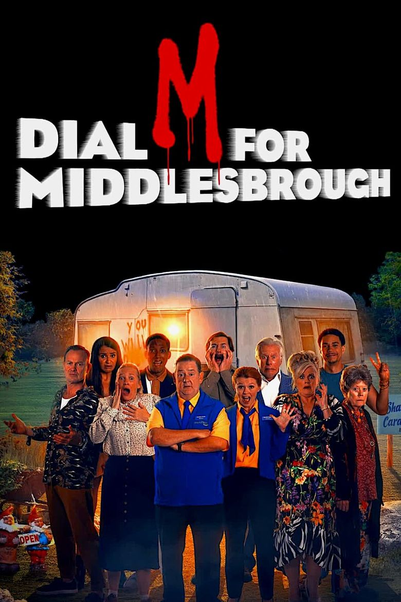 Dial M for Middlesbrough Poster