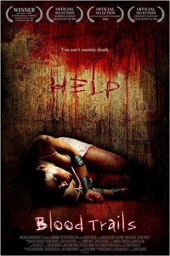 Blood Trails Poster