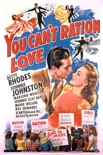 You Can't Ration Love Poster