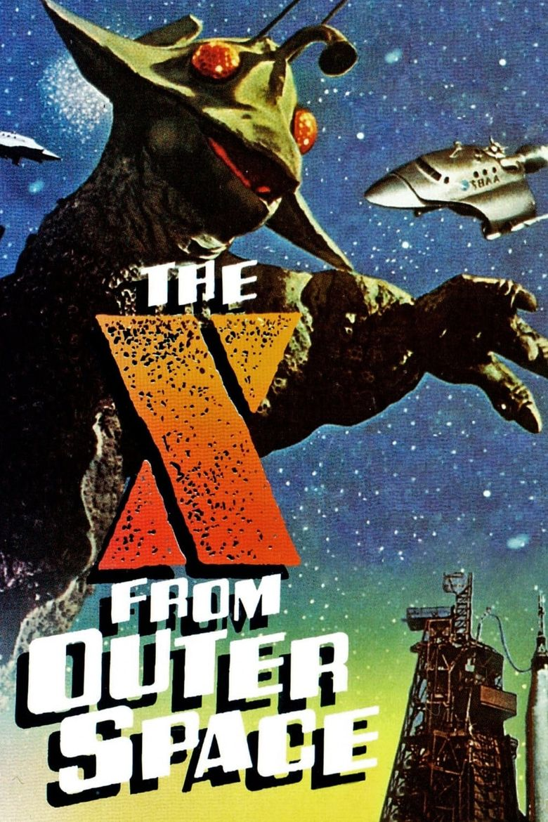 The X from Outer Space Poster
