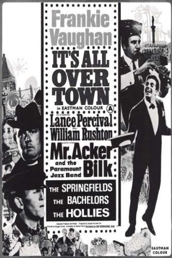 It's All Over Town Poster