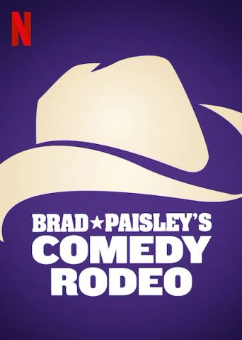 Brad Paisley's Comedy Rodeo Poster