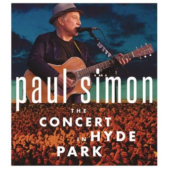 Paul Simon the Concert in Hyde Park Poster