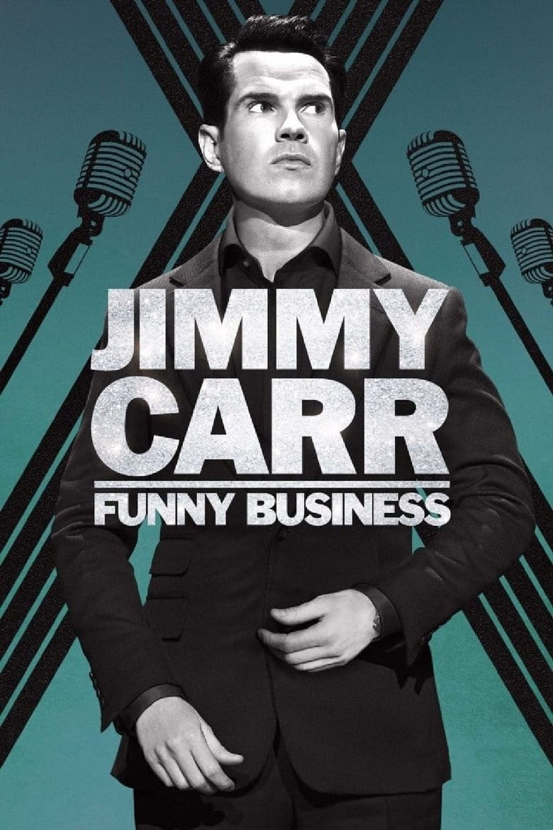 Jimmy Carr: Funny Business Poster