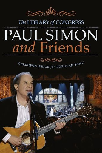 Paul Simon and Friends: The Library of Congress Gershwin Prize for Popular Song Poster