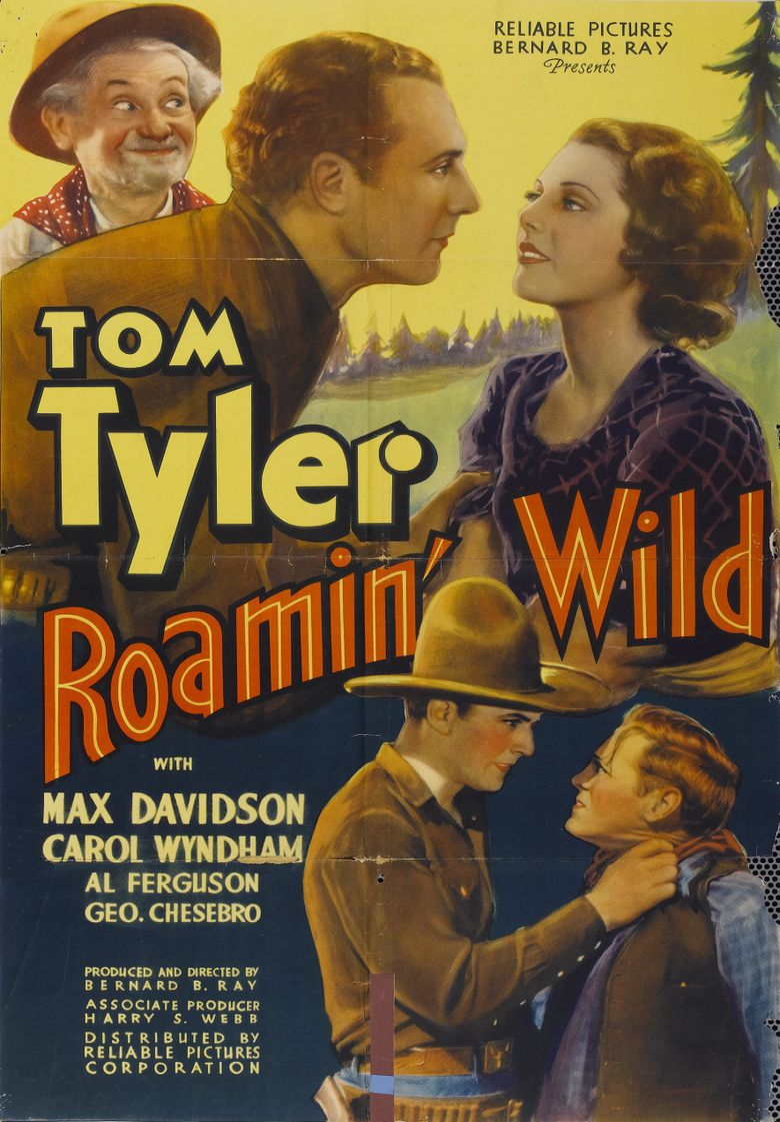 Roamin' Wild Poster