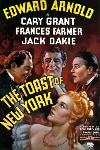 The Toast of New York Poster